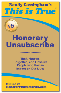 Honorary Unsubscribe Book Collection: Volume 5
